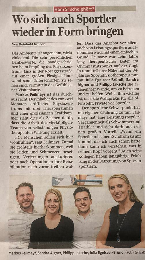 OOE Nachrichten Jänner 2019